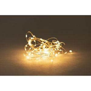 Světelný řetěz na baterky s LED žárovkami Luuka, 100 světýlek