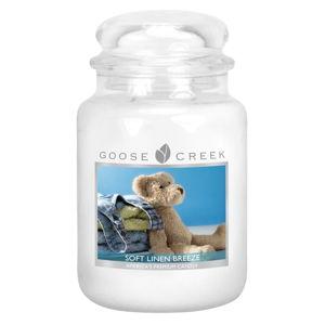 Vonná svíčka ve skleněné dóze Goose Creek Hebký vánek, 150 hodin hoření