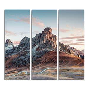 Obraz na plátně Styler Dolomiti, 81 x 75 cm