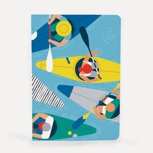 Poznámkový blok U Studio Design Kayak