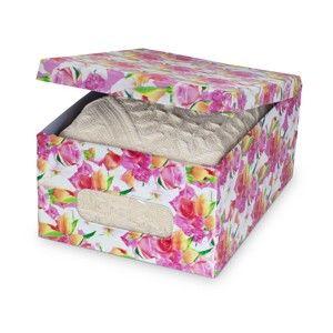 Úložný box Domopak Roses, délka 50cm