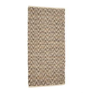 Hnědý koberec zjuty akůže Simla, 240x170cm