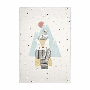 Dětský ručně vyrobený koberec Tanuki Polar Bera, 150 x 100 cm