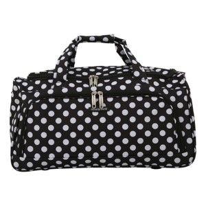 Černé příruční zavazadlo Travel World, 36l