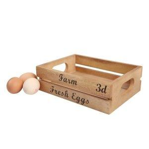 Úložný box na vajíčka z akáciového dřeva T&G Woodware Baroque