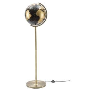 Stolní lampa v černo-bronzové barvě Mauro Ferretti Da Terra, výška130cm
