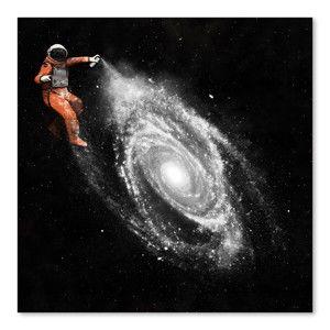 Plakát Space Art od Florenta Bodart, 30x30 cm