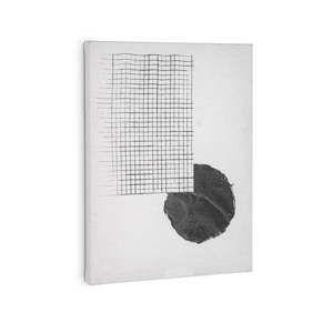 Bílý obraz La Forma Prism, 40 x 30 cm