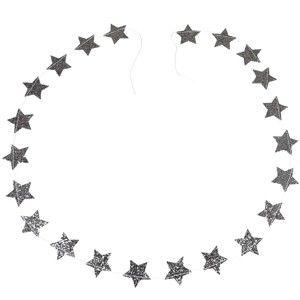 Vánoční girlanda Rex London Silver Stars
