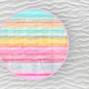 Plážová osuška Endless Mae Kimly, Ø150cm