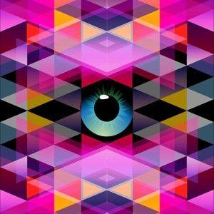 Obraz Vidí tě, 60x60 cm