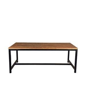 Jídelní stůl s deskou z akáciového dřeva LABEL51 Gent, 200 x 100 cm