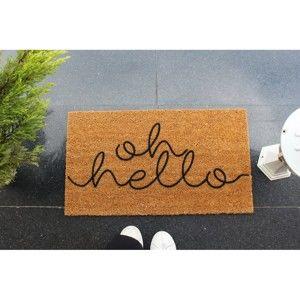 Rohožka Doormat Oh Hello, 70 x 40 cm