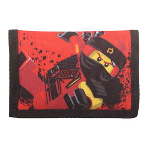 Červená peněženka LEGO® NINJAGO Kai