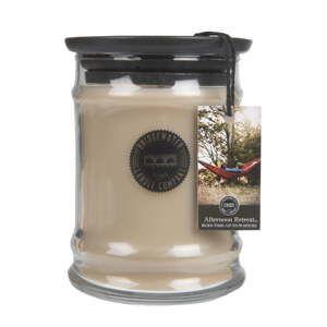 Svíčka ve skleněné dóze s vůní mandarinky a mechu Creative Tops Retreat, doba hoření 65-85 hodin