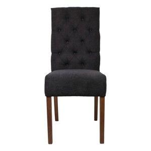 Antracitová jídelní židle HSM collection Cambridge