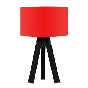 Stolní lampa s červeným stínítkem Kate Louise Blackie