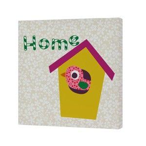 Nástěnný obrázek Baleno Sweet Home Yellow, 27x27 cm