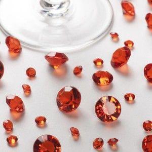 Červené dekorativní krystaly Neviti Party, 100 g