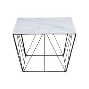 Konferenční stolek se sklěnenou deskou Actona Turbo,60x60cm