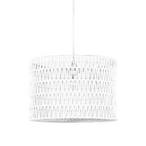Bílé stropní svítidlo LABEL51 Stripe