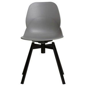Sada 4 šedých jídelních židlí Marckeric Alice