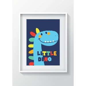 Nástěnný obraz OYO Kids Little Dino, 24 x 29 cm