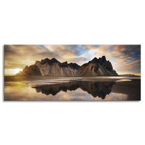 Obraz na plátně Styler Iceland, 150 x 60 cm