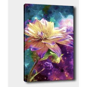 Nástěnný obraz na plátně Tablo Center Flower, 40 x 60 cm