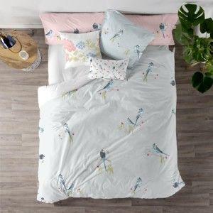 Bavlněný povlak na peřinu na dvoulůžko Happy Friday Parakeet,200 x 200 cm