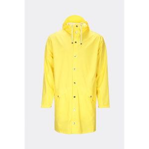 Žlutá unisex bunda s vysokou voděodolností Rains Long Jacket, velikost XXS/XS