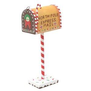 Vánoční dekorace ve tvaru poštovní schránky InArt Mailbox Kristen