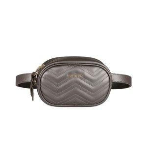 Ledvinka ve stříbrné barvě Beverly Hills Polo Club Fleur