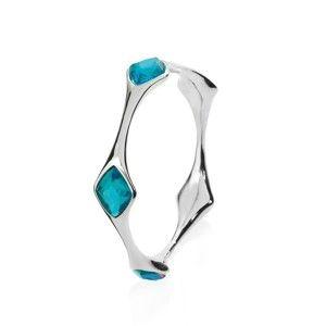 Náramek s modrými krystaly Ottaviani