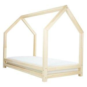 Dětská postel z lakovaného smrkového dřeva Benlemi Funny, 120 x 200 cm
