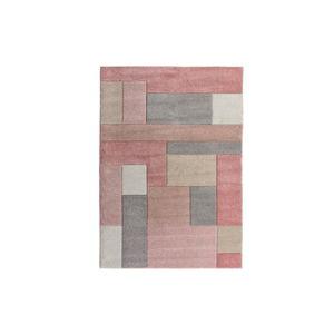 Růžový koberec Flair Rugs Cosmos, 120 x 170 cm