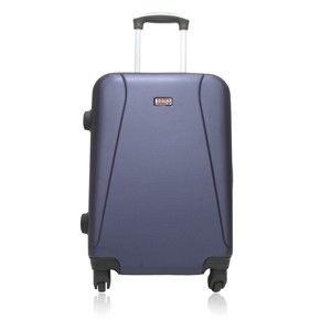 Modrý cestovní kufr na kolečkách Hero Lanzarote, 91 l