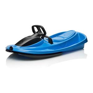Modrý zimní bob s volantem Gizmo Stratos electric