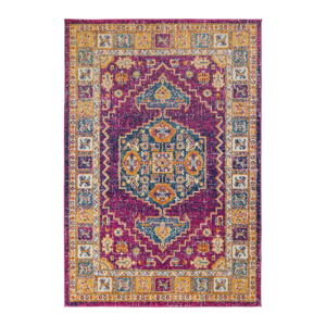 Koberec Flair Rugs Urban Traditional Pink Multi,100 x 150 cm