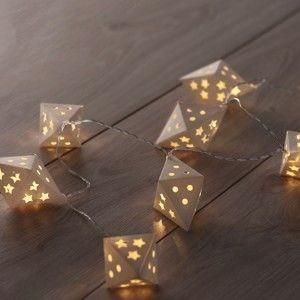 Dekorativní svítící girlanda DecoKing Triangles