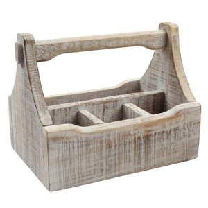 Dělený dřevěný podnos T&G Woodware Nordic Caddy