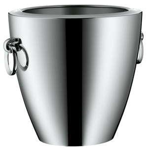 Chladící nádoba na šampaňské z nerezové oceli Cromargan® WMF, výška 23 cm