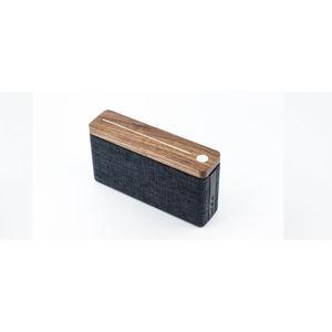 Hnědo-černý bluetooth reproduktor Gingko Hifi